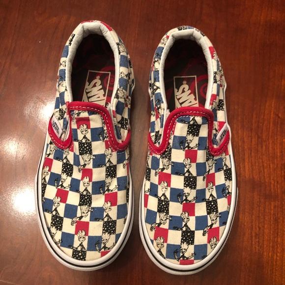 Vans Shoes | Baby Groot Vans | Poshmark